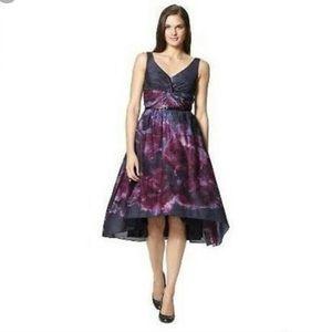 Purple watercolor Neiman Marcus Target dress NWT
